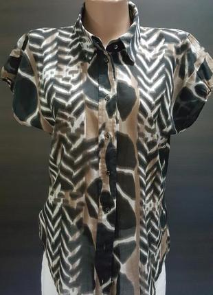 "Тончайшая легкая  блуза"" hugo boss"" 36-38"