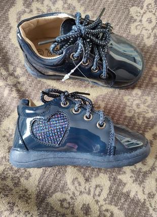 Ботиночки для девочки осенние хайтопы обувь туфли