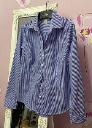 Полосатая рубашка h&m
