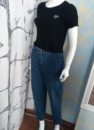 Джинси моми джинсы момы ретро с высокой посадкой