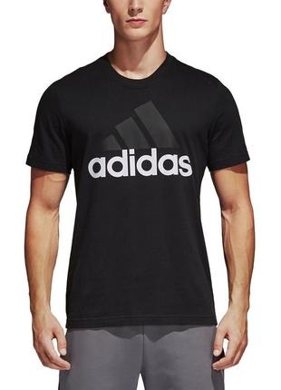 Оригинальная футболка adidas essentials 3-stripes tee
