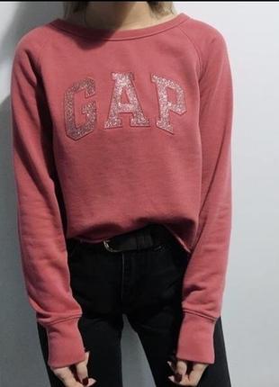 Укороченный свитшот gap