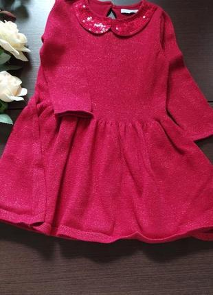Marks spenser's платье сарафан новогоднее