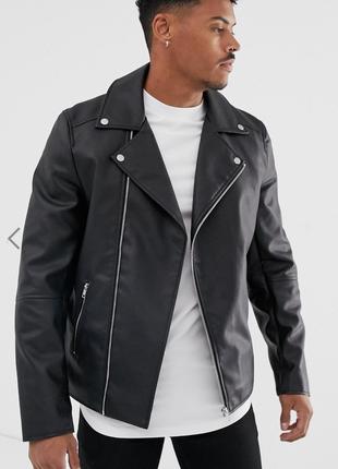 Черная куртка косуха asos !