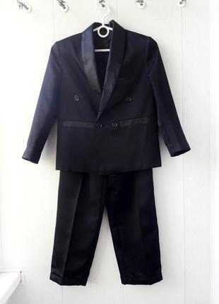 Дешево! школьный  костюм! пиджак + брюки ( штаны )