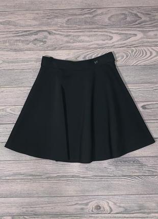 Черная юбка для девочки 8-14 лет.