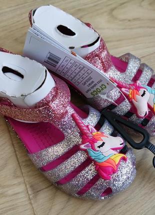 Босоножки, туфли, сандали крокс isabella charm