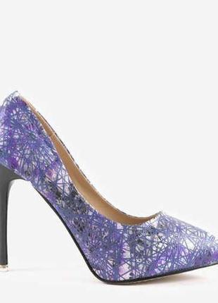 Фіолетові шпильки 0116-4