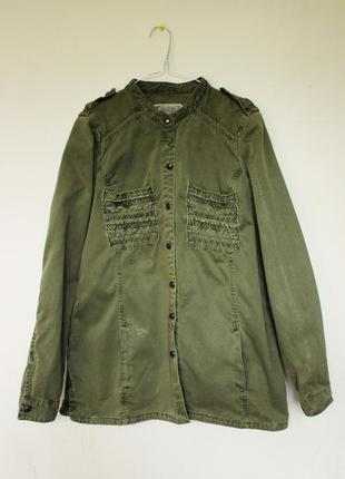 Рубашка-пиджак zara