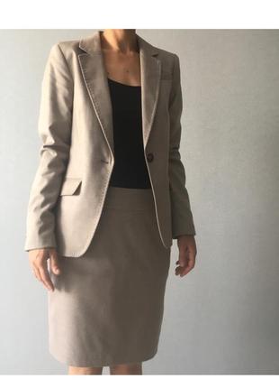 Костюм, пиджак с юбкой, деловой костюм, h&m