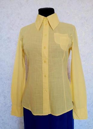 Стильная брендовая модная винтажная ретро красивая блузка блуза блузочка рубашка винтаж