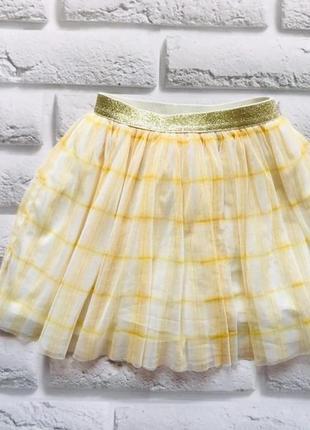 Next красивая юбка-пачка на девочку 3-4 года