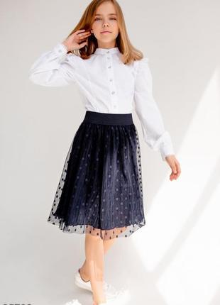 Воздушная юбка в школу