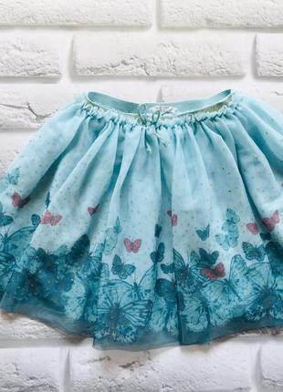 H&m красивая юбка-пачка на девочку  6-8 лет