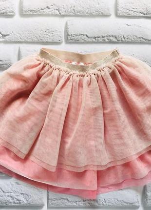 H&m  красивая юбка-пачка на девочку 6-7 лет