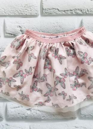H&m стильная юбка на девочку  1,5-2 года