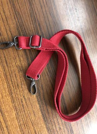 Ремень лямка для сумки текстиль хлопок