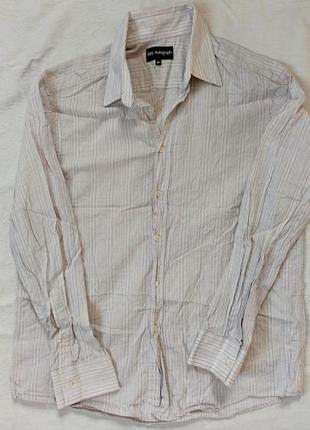 Стильная мужская рубашка marks & spencer autograph  оригинал slim fit