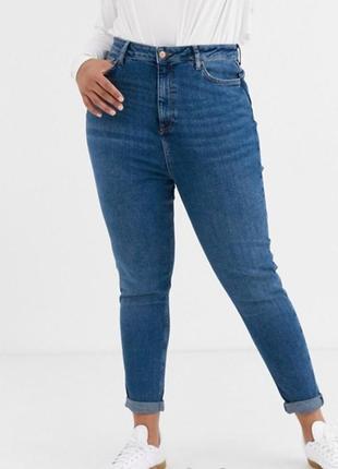 Винтажные джинсы скинни f&f