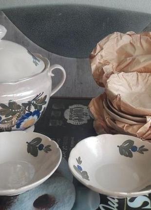 Новый набор посуды для супа, вареников