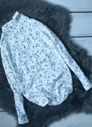 Новая блуза единорог