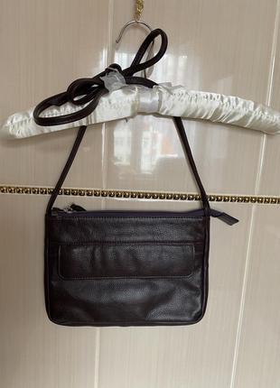 Кожаная сумка через плечо hotter кросбоди