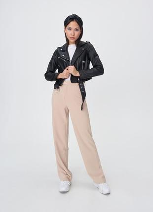 Куртка косуха байкерская с ремнем sinsay , р м,l,xl4 фото
