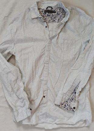 Стильная мужская рубашка cedarwood state оригинал slim fit