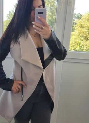 Накидка, пальто,  курточка кардиган италия