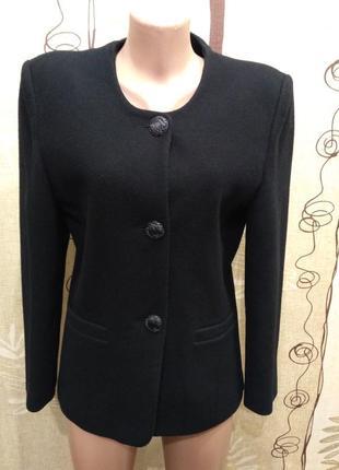 Simone стильное шерстяное полупальто, пиджак
