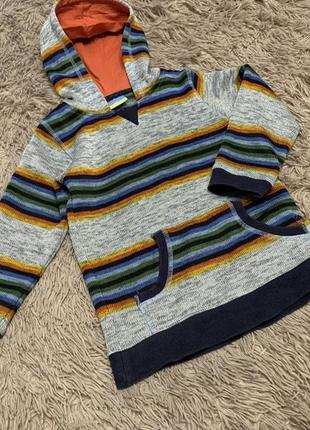 Тёплая кофта, свитер, батник topolino 128