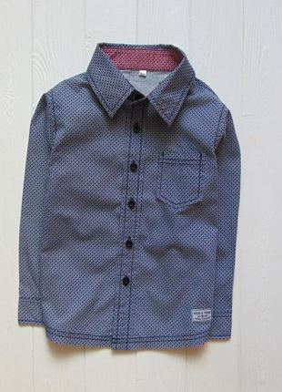 Zeeman. размер 3-4 года. шикарная рубашка для мальчика