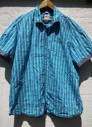 Оригинальная и стильная рубашка-шведка s.oliver хлопок