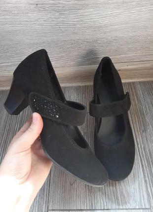 Зручні туфельки чорні від graceland