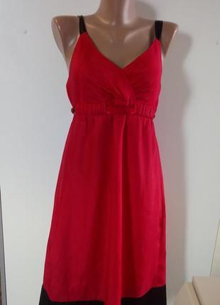 Атласне плаття міді( красное атласное платье миди)1 фото