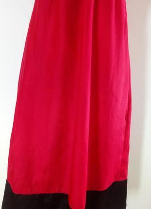 Атласне плаття міді( красное атласное платье миди)4 фото