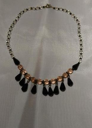 Винтажное колье ожерелье времён ссср, 80-е годы