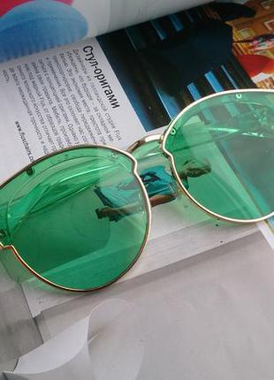 Модные имиджевые очки с прозрачной линзой и прозрачной оправой