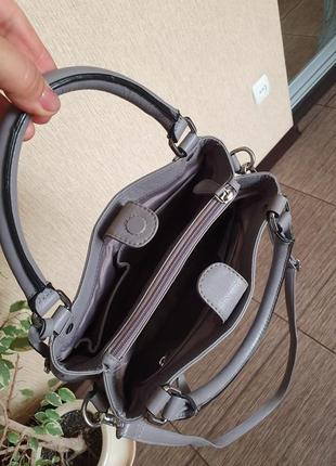 Стильная кожаная сумка debenhams collection,  оригинал