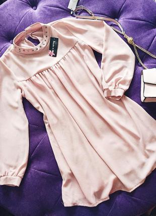 Стильное легкое крепшифоновое платье свободного  фасона по скидке италия