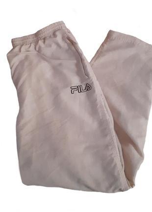 Винтажные широкие спортивные штаны