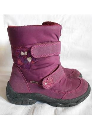 Теплые зимние сапожки ботинки superfit goretex р.29, стелька 19 см.