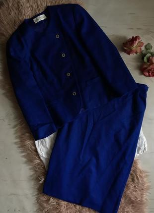 Тёплый костюм с юбкой(xl)