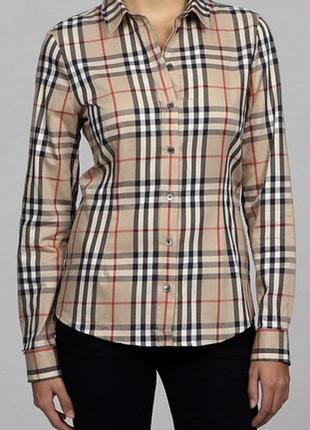 Рубашка премиум класса женская оригинальная burberry размер 44-46