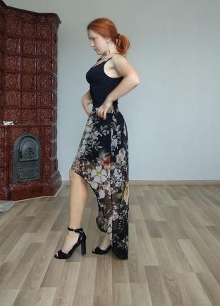 Очень красивая юбка с хвостом