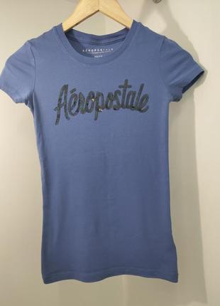 Синяя футболка aeropostale