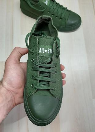 Кеды all star converse green