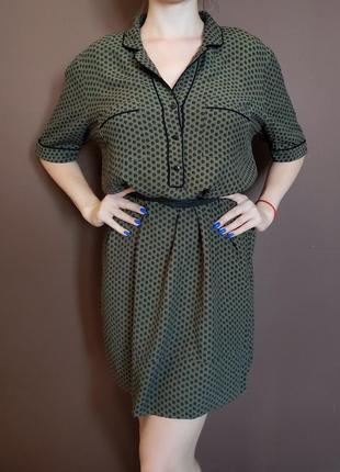Платье marks & spencer цвета хаки