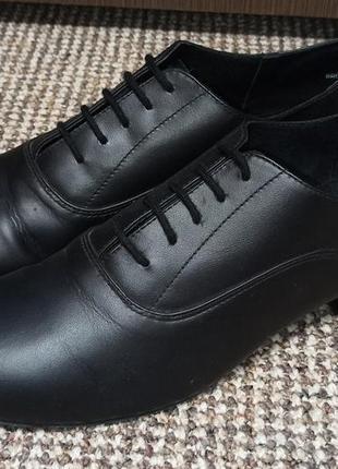 Танцевальные туфли джазовки кожа capezio. размер 40