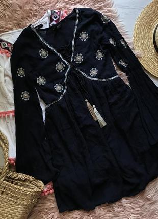 Красивая платье в этно стиле(xs/s)